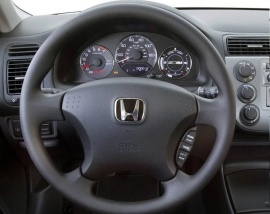 крышка Airbag Honda Civic 7